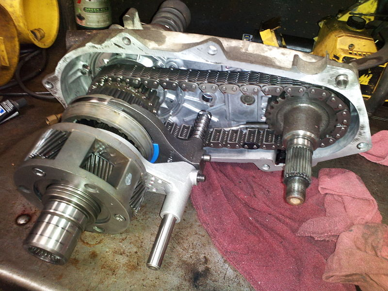 Transfer Case Trail Transmission