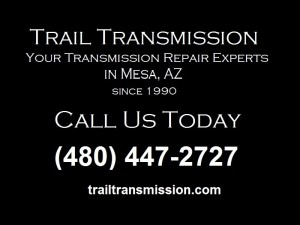 Call Trail Transmission for Differential Repair In Mesa | (480) 447-2727