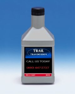 Check your Transmission Fluid